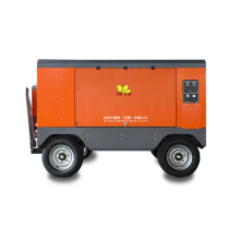 Diesel Engine Mining Portable Screw Air Compressor With Jack Hammer