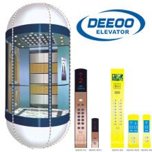 Günstige Wohnlift im Freien Sightseeing Glas Panorama Aufzug