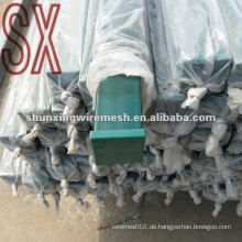 Square Tube Metall Wire Mesh Zaun Post