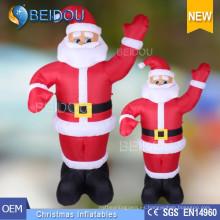 Publicidad inflable Santa Claus Gigante Inflable Navidad Santa
