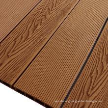 Wood Plastic Composite Outdoor WPC Decking Square Hollow Hardwood Decking Board Terrace Engineering Wood Flooring
