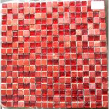 Red Stone Mosaic Mix Glass Mosaic Tile (HGM360)