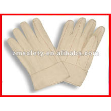 Cotton canvas hot mill glove double layer