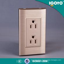 Home Electric 6 Pin Wall Socket American Standard Duplex Receptacle