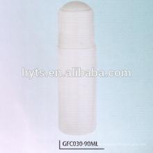 90ml Plastikrolle auf leere Flasche des desodorierenden Mittels