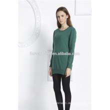 Großhandel benutzerdefinierte gestrickte Pullover Strickpullover Pullover Mädchen