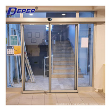 HOT SELL DEPER D5 main entrance commercial automatic sliding glass doors