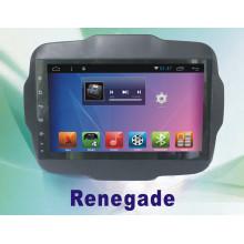 Android Sistema de navegación de coches DVD para Renegado 9 pulgadas con GPS de coche