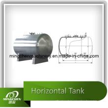 Réservoir de stockage horizontal