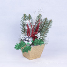 Cadeaux de Noël Arbres de table Ornements attrayants Vifs