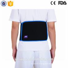 Lower back support belt with dual adjustable straps