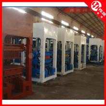Máquinas de fabricação de tijolos de alta eficiência Qt10-15 para venda