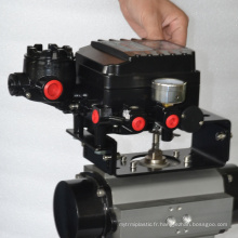 La Chine a fait la valve de contrôle pneumatique de haute qualité de prix bon marché avec le positionneur pov futé