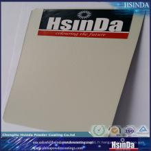 Revêtement de poudre thermoset gris anti-corrosif