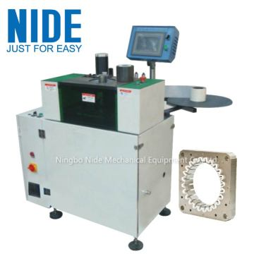 Automatic stator slot bottom insulation machine