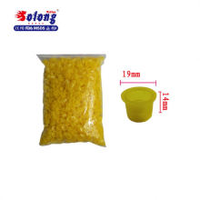 Solong tattoo accessories lager size 1000pcs plastic cap tattoo ink cup