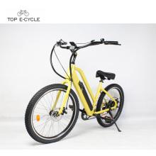 48v 500w fácil de montar bicicleta elétrica madin em China / bicicleta elétrica da praia cruzador atacado