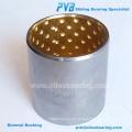 Stahlschale mit einem Bleibronze-Lagermaterial für ölgeschmierte Anwendungen
