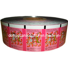 Filme de embalagem de doces / filme de rolo de doces / filme plástico de doces