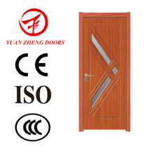 Puerta de PVC perfil de puerta de madera diseños hechos en China