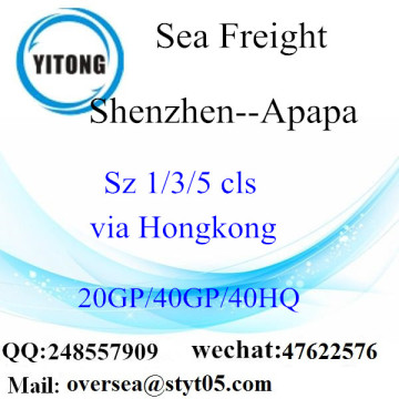 Shenzhen Port Sea Freight Shipping ke Apapa