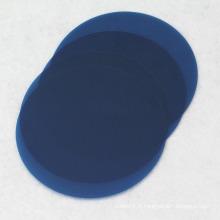 Film de polissage fibre optique FCST, film de polissage facultatif en plusieurs couleurs, flip de polissage de fibres avec type rond 1um 3um 9um