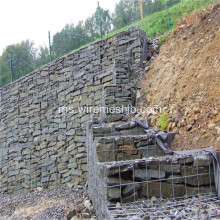Gabion Box dikimpal Galvanized Hot Dipped