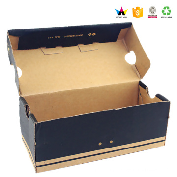 Recycled Corrugated Paper Shoe Packaging Boxes