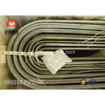 Stainless Steel U Bend tabung ASTM A213 TP321H untuk Heat Exchanger