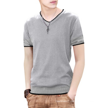 Custom Men′s Polyester Knitting Hot Sell T-Shirt