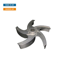 Customized Stainless Steel propeller Investment Casting Precision Casting Parts