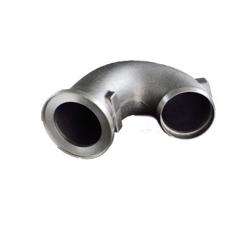 Sandgusskomponenten Metalllegierungen Auto-Abgasrohr