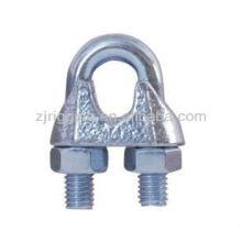 c15 malléable IRON din741 clip de câble