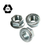 Flange Hex Nut M4-M10 (DIN 6923)