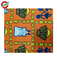 Shrink-Resistant african print wax twill woven fabric for sale