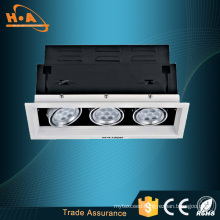 Ce RoHS Approved High CRI Ra80 COB LED Grille Lighting