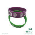 Benutzerdefinierte Logo Silikon Armbänder China Großhandel