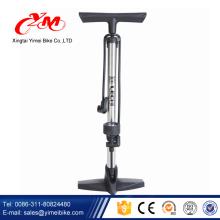 Atacado quente venda bomba de ar bicicleta / melhor preço da bomba de bicicleta com calibre / Yimei fabricação bomba de pé para o ciclo