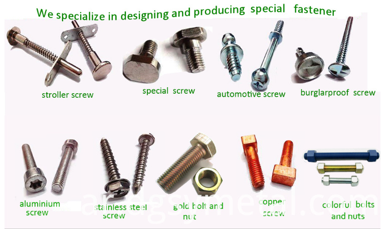 aluminum alloy screws
