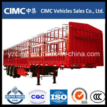 China Cimc 40 Tons 3 Ejes Cargo Fence Remolque