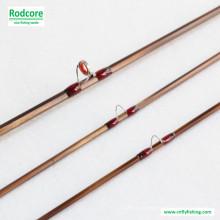 8FT 4wt Hexagon Tonkin Bambus Fliegen Rod