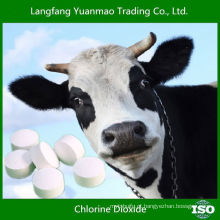 2015 Desinfetante veterinário de venda quente para comprimido de dióxido de cloro