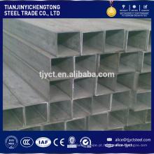 10x10 tubo quadrado de aço 100x100 fornecedor tubo quadrado de ferro preto asiático