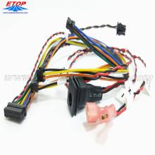 Fabrication de faisceaux de câbles avec alimentation CC Jack