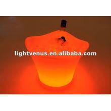 Cubo de vino LED brillante alta venta directa de la fábrica