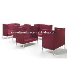 Modern design wedding reception leather sofa XY0342
