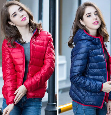 Ladies portable jacket