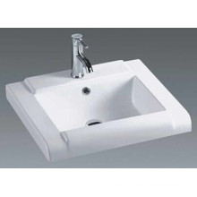 Top Mounted Bathroom Ceramic Vanity Basin (020)