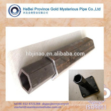 Low Carbon steel HEX Shaped Seamless Steel Tube (weld well)