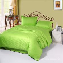Cheap Cotton Satin Lime Hilton Hotel Bedding Linens Collection